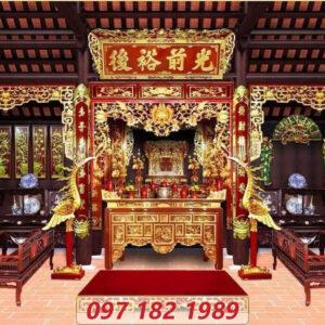 Nội thất không gian thờ