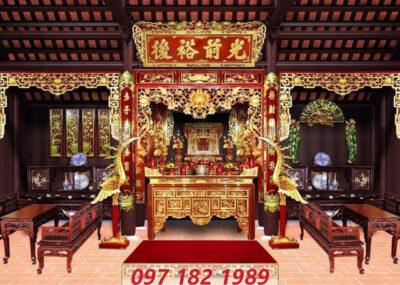 Nơi mua đồ thờ bằng gỗ giá tốt tại Hà Nội