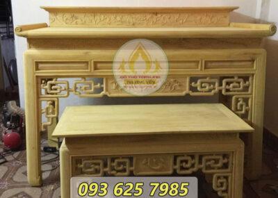 Lựa chọn loại gỗ nào làm bàn thờ tốt nhất