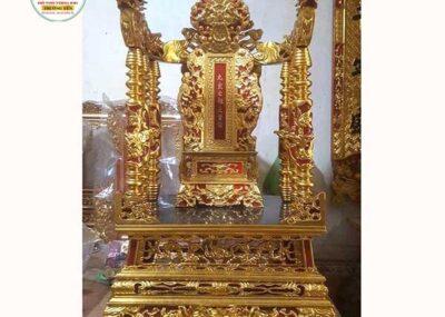 Mẫu ngai thờ gia tiên đẹp bằng gỗ mít, gỗ gụ, gỗ dổi, gỗ hương, xoan đào