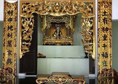 Ý nghĩa của cửa võng thờ