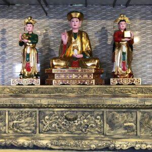 Tượng thờ tam tòa thánh mẫu