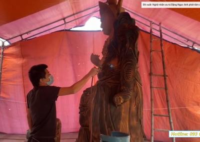 Bàn Giao và Thi Công Tượng Phật cho chùa Đông Xá, Hưng Yên - Đồ Thờ Trường Yến